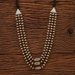 Two Tone Indo Western Trendy Necklace 100150