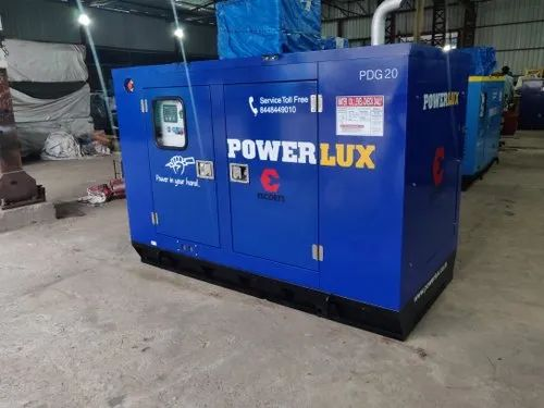 Ms 10 Kva Escort Powerlux Silent Diesel Generator For Industrial 230 415 V Rs 220000 Unit Id 20124562262
