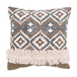 Multi Colored Woven Cushion Cover