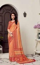 Pashmina Printed Wedding Saree