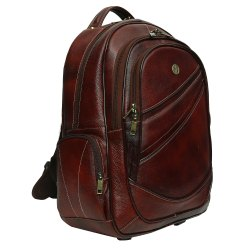 Hammonds Flycatcher Leather Brown Backpack