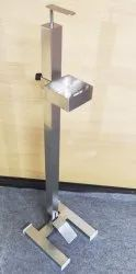 Foot Operated Sanitizer Stand Stainless Steel - 304 Grade