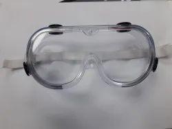 Zero power safety goggles