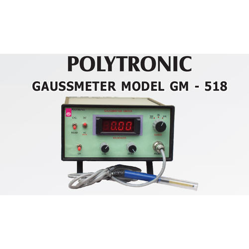Polytronic Gauss Meter, Usage: Industrial, Laboratory