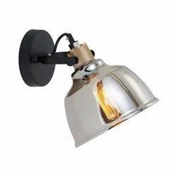 Smoky Glass Wall Lamp, 60w