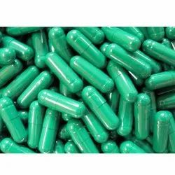 Green HPMC Empty Capsules, Packaging Type: Box, Packaging Size: 100000 Piece
