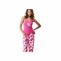 Printed Cotton Ladies Night Suit
