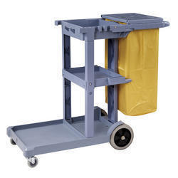 Chaobao Plastic Janitor Trolley, for domestic