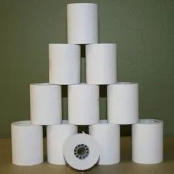 Plain White Thermal Paper Printing Roll, GSM: 80 - 120 GSM, Thickness: 0.01-2 Mm