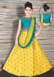 Kids Indian Designs Lehenga