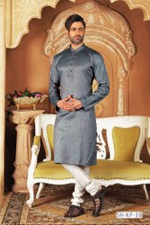 Long Mens Wear Kurta With Churidar