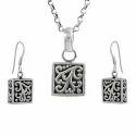 Artisan 925 Sterling Silver Jewelry Set