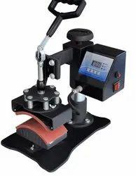Digital cap heat Press, Garments, Automation Grade: Semi-Automatic