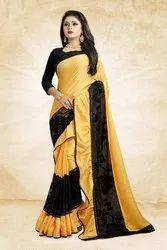 Pr Fashion Launched Beautiful Designer Frill Saree