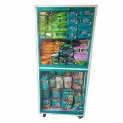 H 7ft Standard Pharmacy cabinet with sliding glass, For Medical, 5 Shelves