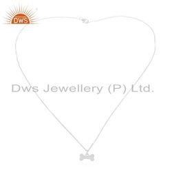 Handmade Sterling Fine Silver Designer Charm Chain Pendant Jewelry