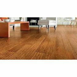 Goyal Brown Wooden Flooring