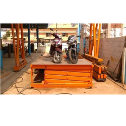 Hydro Fabs Hydraulic Bike Lift, for Industrial