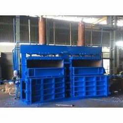 Double Box Double Cylinder Baling Press Machine