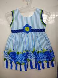 Cartoon Cotton Frock