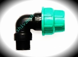 mdpe pipe fitting male threaded elbow
