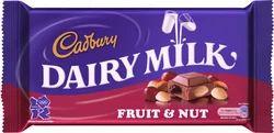 Cadbury Dairy Milk Fruit Nut