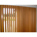 Plastic Brown Pvc Vertical Blinds