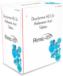 Dicylomine and Mefenamic Tablet
