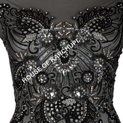 Embroidered Bustier