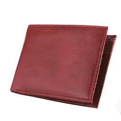 Leather Goat Flap Gents Wallet