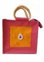 Designer Rope Handle Jute Bags