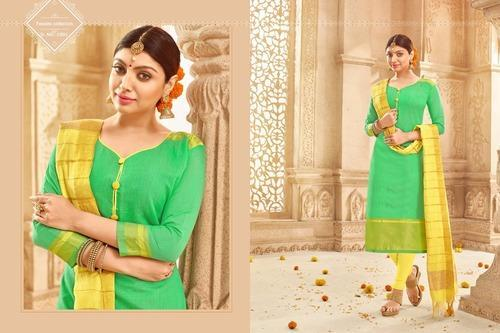 1aa56c6d9d Khadi Silk Dress Material at Rs 555 /piece | Silk Dress Materials ...