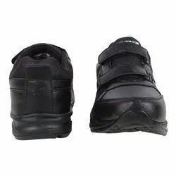 RNT Leather Black School Shoe VELCRO, Article: Eva Gola Shoes