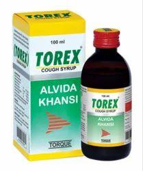 Plastic Suppressants Torex cough cyrup, Bottle Size: 100 ml