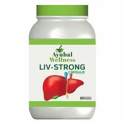 Liv Strong Capsule (Protects The Liver From Side Effects Of Antibiotics)