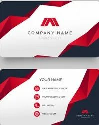 300 Gsm Paper Business Cards Printing Services, in Pan India