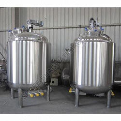 Jackated Stainless Steel Tank