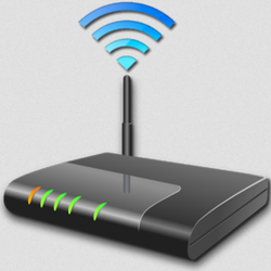 Black Wireless or Wi-Fi WIFI Campus Routers