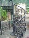 Spiral Cast Iron Stair