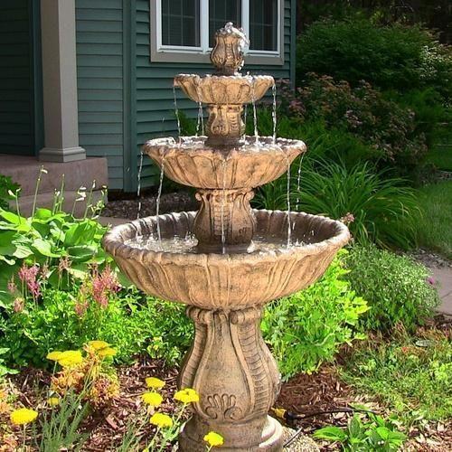 Charmant Stone Decorative Water Fountain