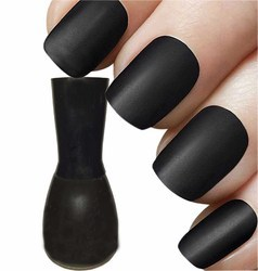 20 Shades Velvet Matte Black Nail Polish At Cheaper Rate, Pack Size ...
