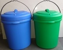 10 Liters Plastic Dustbin
