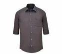 Jack Vault Regular Fit Regular Fit - Solid Formal Shirt - Brown-1037