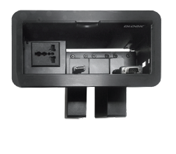 Cable Manager Desktop Interfaces (cable cubby pull, Down)