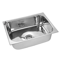 22X18X8 AMC Single Bowl Stainless Steel Sink