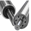 Industrial Hard Anodized Aluminum Rollers