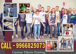 Custom T Shirt Printing Hyderabad / India