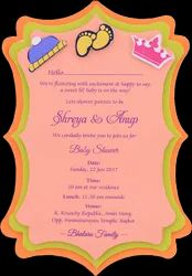Baby Shower Invitations Sudarshan Cards Exporter In