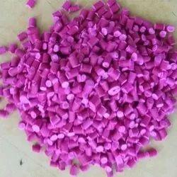 PP Plastic Pink Color Granules