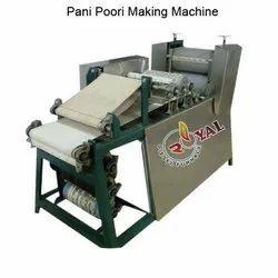 Pani Puri Making Machine, Automatic, Capacity: 50 Kg Per Hour